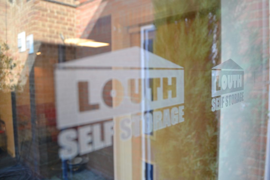 Louth Self Storage signs